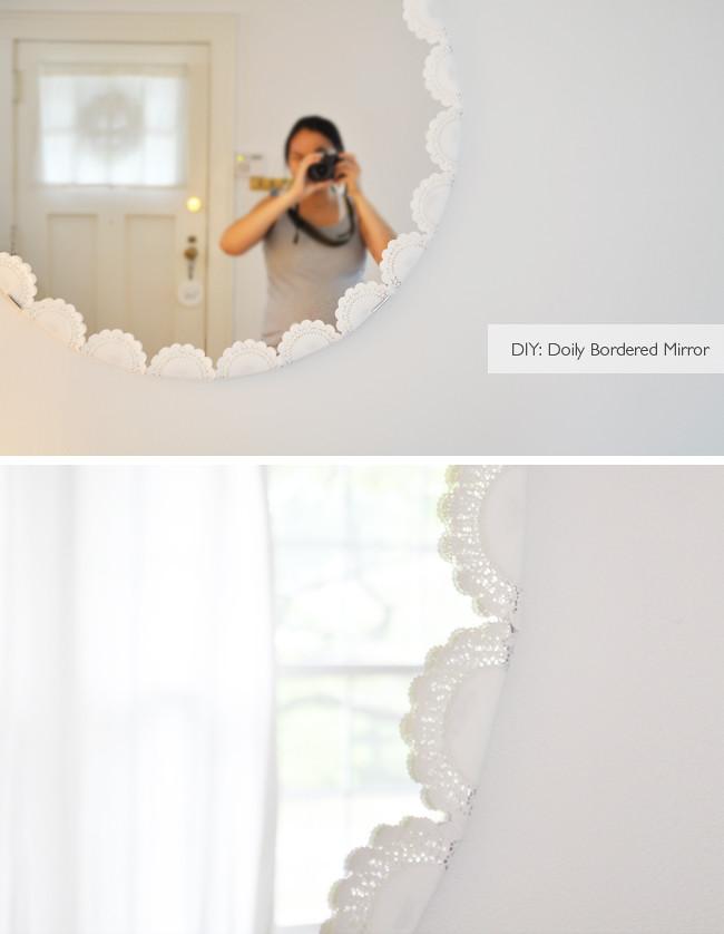 DIY: IKEA mirror revamp