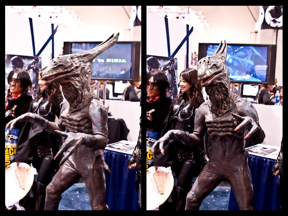 Alien vs. Ninja?