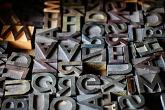 Letras (Gerardography) Tags: madera letters jose antiguas caption typing orozco letras clemente imprenta impresiones