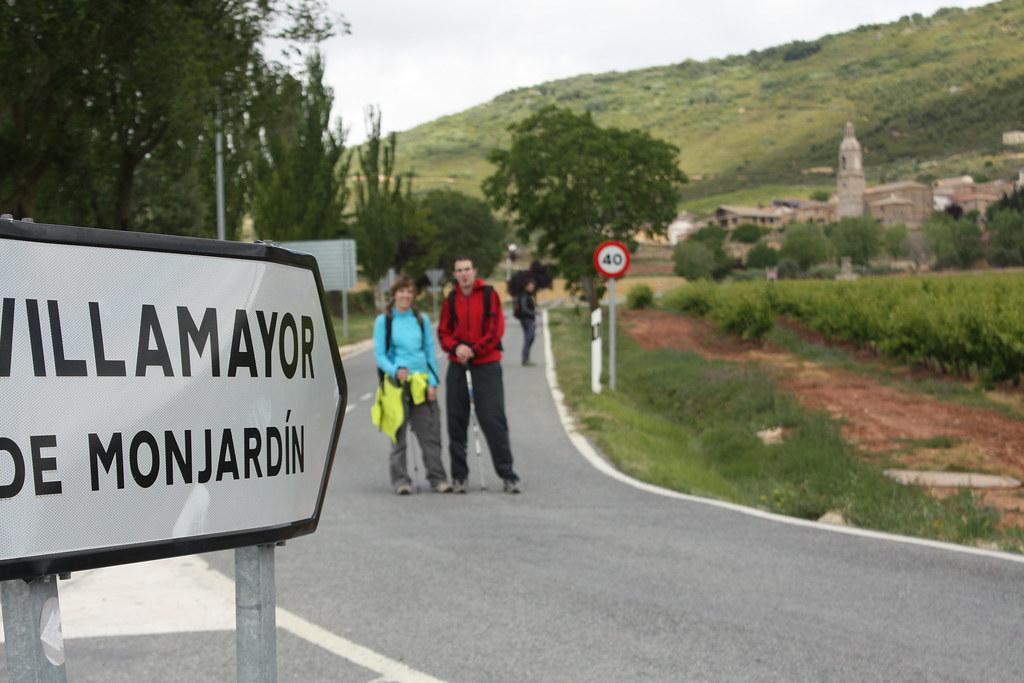 Llegamos a Villamayor de Monjardín