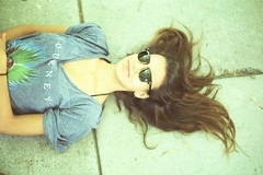 (Joe Curtin) Tags: summer film hair glasses floor santamonica maddy