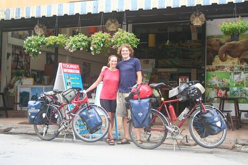 Chris & Liz in Chiang Mai