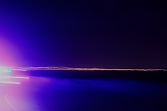 Twilight Speedball (tony.O) Tags: longexposure light lightpainting motion black yellow night digital canon rebel flickr purple nightshot driveby dslr streaks vc venturacounty 28135mm xsi lightstreaks nightimage tonyo intentionalcameramovement twilightspeedball