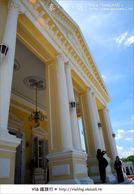 【泰國旅遊】大城之旅|泰皇的渡假聖堂~芭茵夏宮19