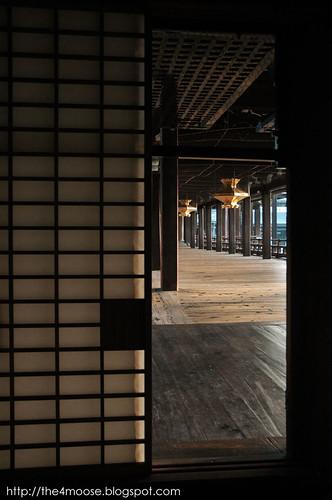 Nishi-Hongan-ji Temple 西本願寺 - Corridor