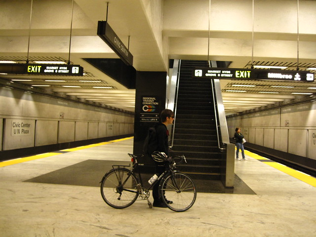 Boy. Bike. Bart
