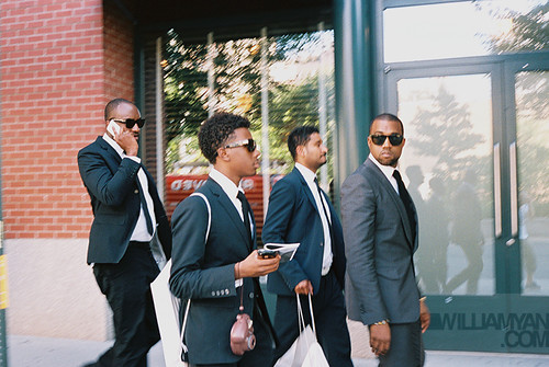 Kanye West & The Suited Crew