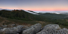 Heaven descends (Z Bicho) Tags: sunset pordosol panorama portugal fog clouds canon sintra hills nuvens filters 1022 panormica nevoeiro ndgrad 40d