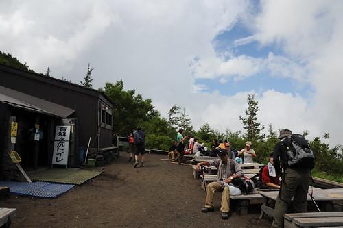 六合目の茶屋