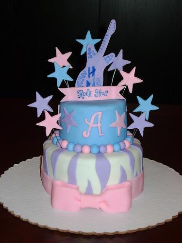 Hannah Montana Rockstar Cake