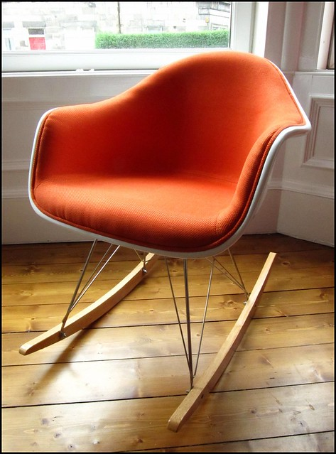 our new Eames rocking chair