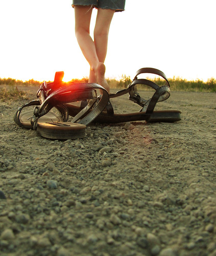 Watch me walk away.