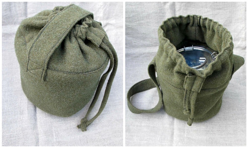 z wool lunch tote