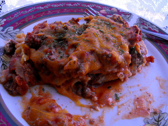 Meat Lovers Lasagna 1
