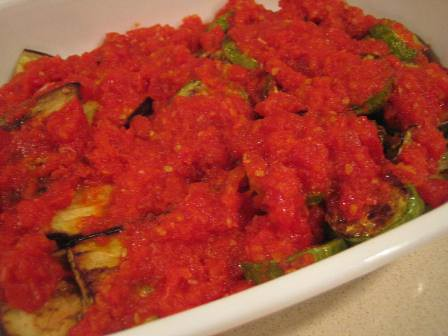 Kabak Patlıcan Kızartması Fırında