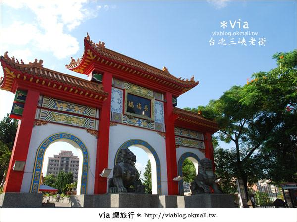 【台北景點】走入台北古味老鎮~三峽老街之旅39