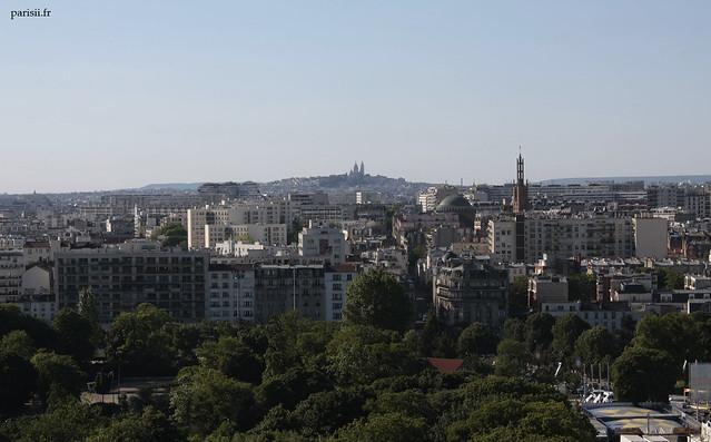 La basilique est incontournable dans le paysage parisien