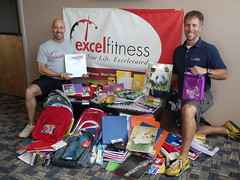 Excel Fitness School Supply Drive 2010