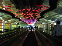 O'Hare Neon Tunnel