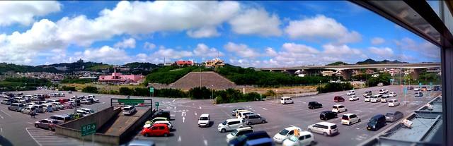 今日のバルジャスのパノラマ。でも明日はまた台風?