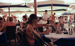stilling thirst (Tanya Skvortsova) Tags: travel summer colour film xpro crossprocessed croatia slide nikonf100 reverse dubrovnik fujivelvia100 epsonv700 july2010 nikkor50mmf14g