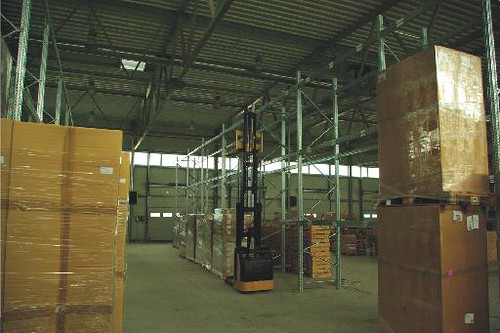 Customs warehouse inside