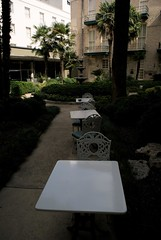 Tables (._Tj) Tags: white lines hotel san texas chairs sony travis rocking antonio leading menger a300 mengerhotel sonydslr alpha300 distinguishedblackandwhite schanaman tjschanaman