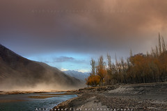 Red Dust Storm (M Atif Saeed) Tags: pakistan red mountain storm mountains nature water clouds river landscape wind areas northern northernareas skardu khaplu atifsaeed gettyimagespakistanq1