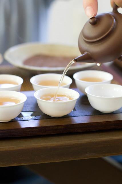 teapot before