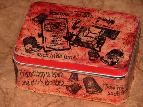 GI - Sept 10 - Pins & Needles Tin - Ink Stained Roni