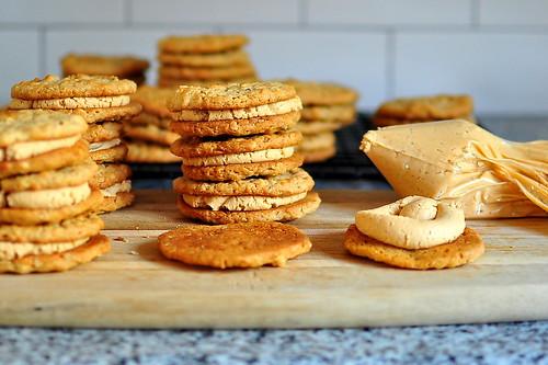 Bouchon Bakery Peanut Butter Sandwich Cookies