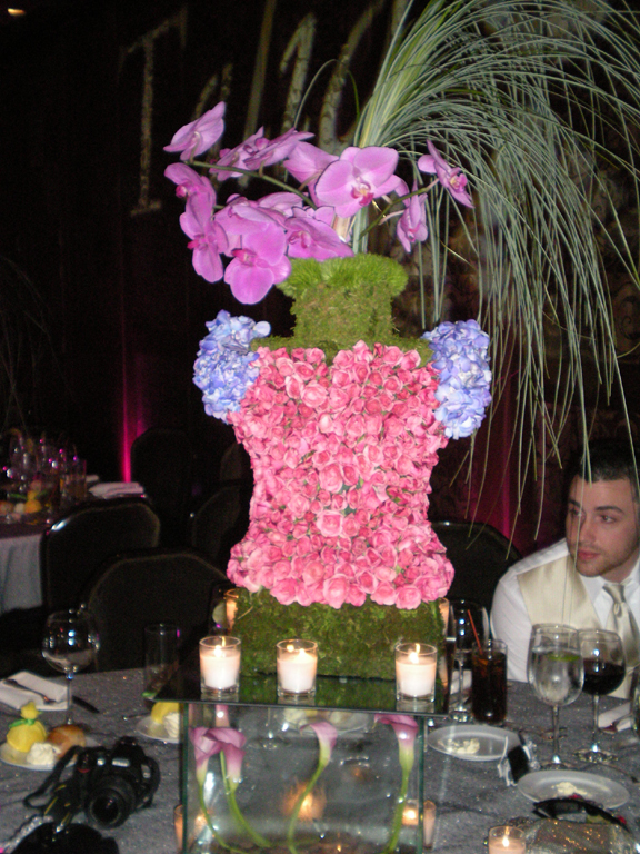 The center pieces