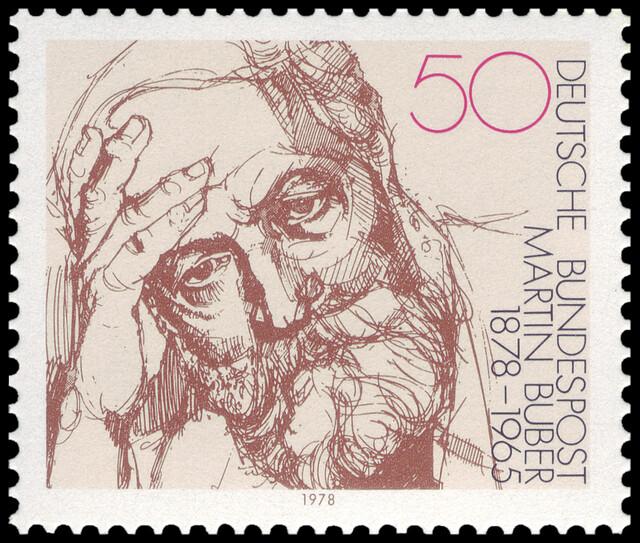 Martin Buber Postage Stamp