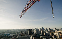 crane diaries (tomms) Tags: urban toronto skyline crane craning tgamcitystreetscapes cityscapeconcretejungle