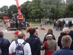 Denkmal-Versetzung Berlin