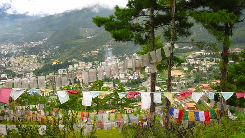 Thimphu from BBS Tower