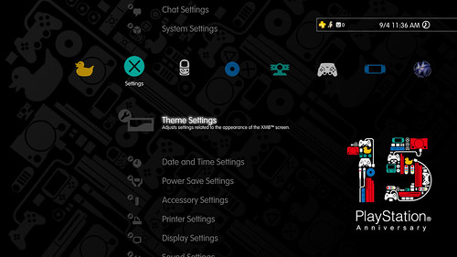 15th Anniversary ps3_theme