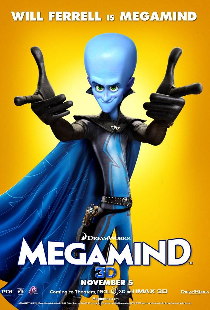 Megamind poster Will Ferrell