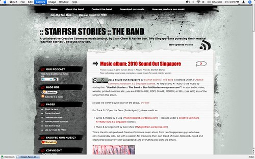 Starfish Stories blog