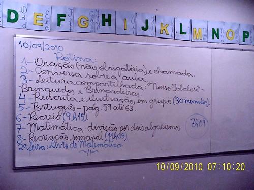 Rotina Prevista (10/09/2010)