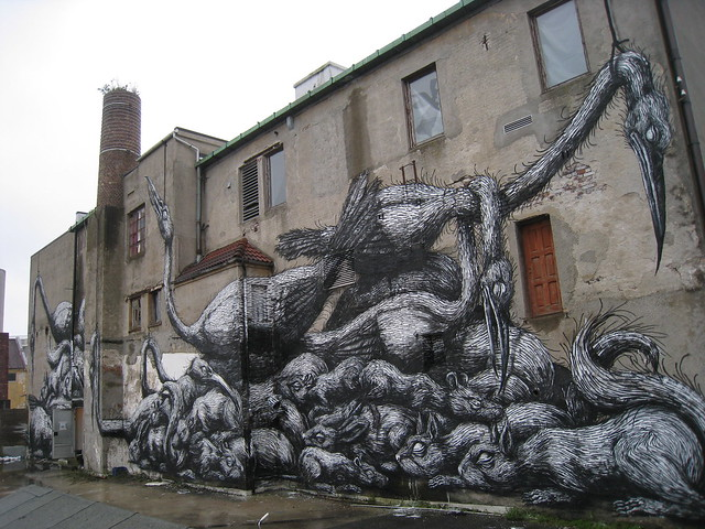 Roa: finished work