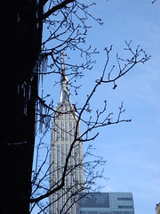 Februrary 11: ESB and icicles (W 34th Street between 7th and 8th Aves)