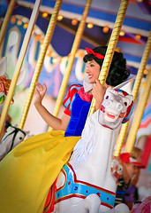 ~Disney Royalty - Snow White~ (SDG-Pictures) Tags: california costumes horse fun rebel dance dancing princess disneyland flash joy performance performing royal 85mm carousel disney entertainment perform southerncalifornia orangecounty anaheim snowwhite enjoyment royalty themepark princesses fantasyland entertaining disneyprincess snowwhiteandthesevendwarfs disneylandresort disneylandpark disneyprincesses kingarthurcarousel princesssnowwhite 18aperature 85mmlens snowwhitedress princesscostumes snowwhitecostume canonxsi disneyssnowwhite takenbystepheng canonxsirebel snowwhitecharacters disneyprincesscostumes 992010 85mm18aperaturelens snowwhitemovie september92010 princessonhorse snowwhitewaving
