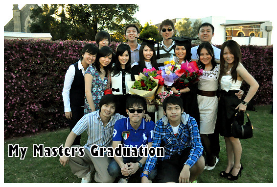 My Masters Graduation 2010: Groupie