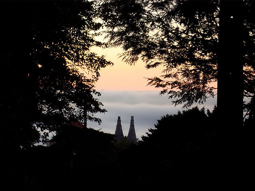 Misty Sintra at the end of the day