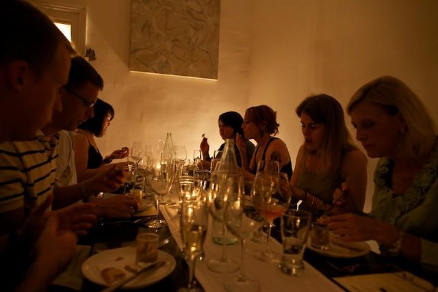 Four Coursemen dinner