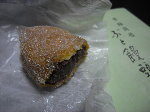 上品なあんドーナツ?萬々堂通則『ぶと饅頭』@奈良市