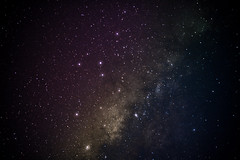 Starry Night :) (edgarator) Tags: light colors night stars awesome australia uluru northernterritory