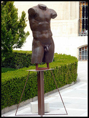 Serie escultrica IV (miguelcharrito) Tags: gay sculpture espaa naked nude andaluca catedral andalucia escultura aceite jaen estatua oliva jan desnudo olivo pene pennis genitales almazara