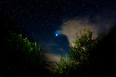 Jupiter caressed by clouds (luigig75) Tags: blue sky cloud green night clouds canon stars noche nuvole astro ciel galaxy cielo tuscany estrellas astronomy jupiter toscana nuages toscane nuit nocturne etoile 1740 astrophoto etoiles notturno stelle milkyway stellato giove capalbio ef1740mmf4lusm 450d lattea vialattea Astrometrydotnet:status=failed mygearandmepremium mygearandmebronze mygearandmesilver mygearandmegold Astrometrydotnet:id=alpha20100916897964